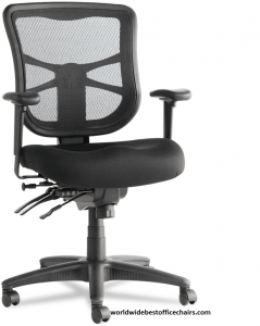 Alera Elusion Series Mesh Mid back Multifunction Office Chair